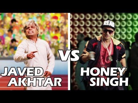 Yo Yo Honey Singh Vs Javed Akhtar Rap Battle | Shudh Desi Raps video