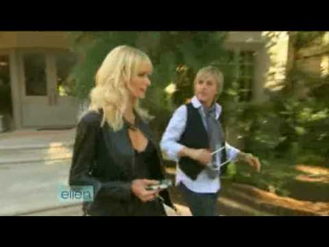 Ellen goes clubbing with new BFF Paris Hilton 10/30/08 Video