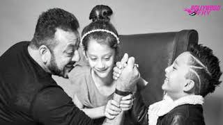 Sanjay Dutt looks adorable with his kids in this photoshoot ।  Bollywood Fry
