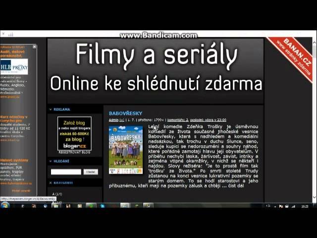 návod na filmy zdarma online