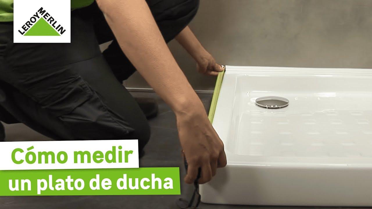 aprende a medir tu plato de ducha para elegir la mampara On receptaculo de ducha medidas