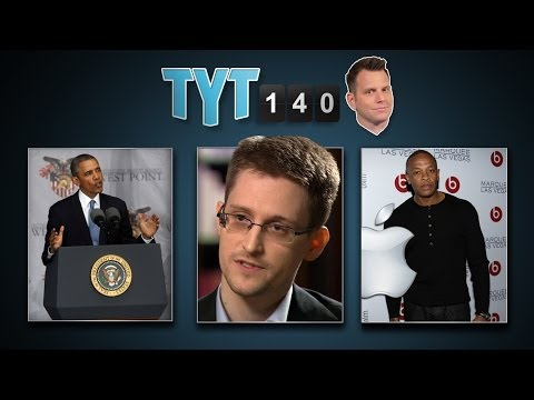Obama Speech, Carbon Action, Dre's Billions, Snowden Talks & Elderly STDs | TYT140 (May 29, 2014)