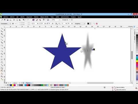 Curso Introducción a CorelDraw X6 - 62 La Herramienta Sombra