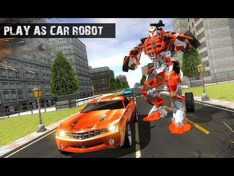 Mobil Robot Transformer Kartun | Super Robot City War Heroes | Android Gameplay