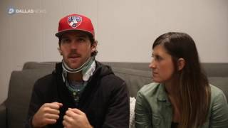 FC Dallas player Ryan Hollingshead talks about car accident