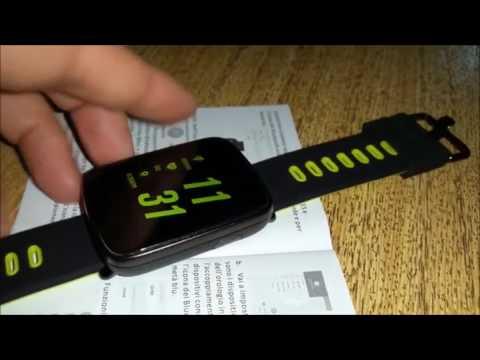 YAMAY  Smartwatch Impermeabile IP68 Bluetooth Orologio