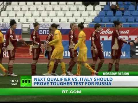 Russia crush Macedonia 8-0 in Women's EURO 2013 Qualifier