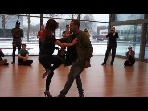 00115 AZNLZF2017 Larissa and Kadu ACD partial ~ video by Zouk Soul