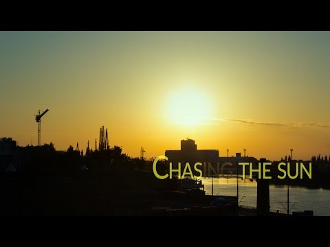 Chasing The Sun | Szczecin Time Lapse