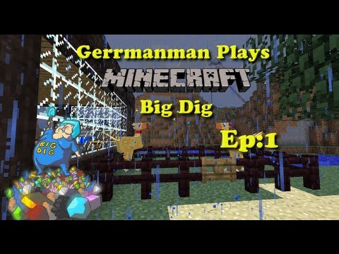 Minecraft Big Dig Ep:1 Joining Meaty