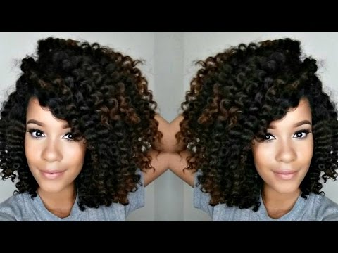 My 3-Strand Twist Out + How YOU can get more volume(if you have thinner hair)