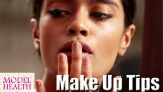 Learn Make Up Tips from a Model