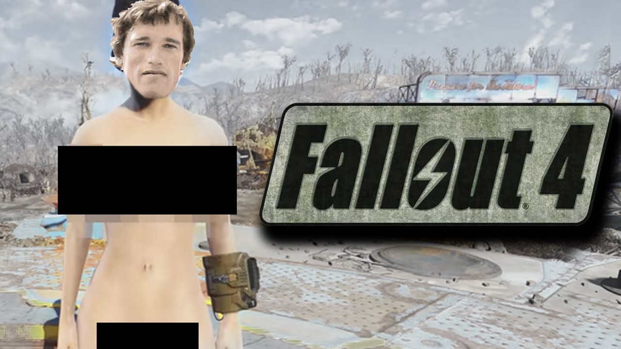 aRNOLD GOES NUDE MODE / fALLOUT 4