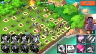 EASY WIN MAX LEVEL REAL PLAYERS DEFENSE BASE LAYOUTS  OPERATION ATTACK  Boom Beach!!!