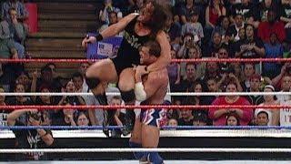 Kurt Angle vs. Rhyno: SmackDown, September 13, 2001