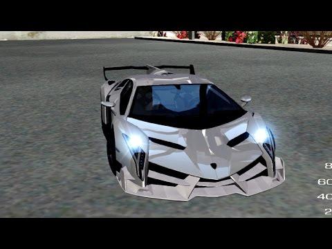 Lamborghini Veneno White-Black 2015 (HQLM)
