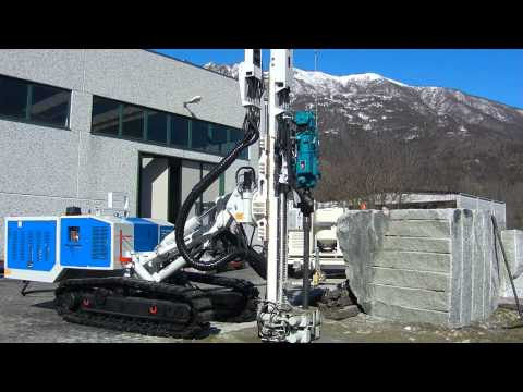 Eagle 800 - Hydraulic Crawler Drill Rig