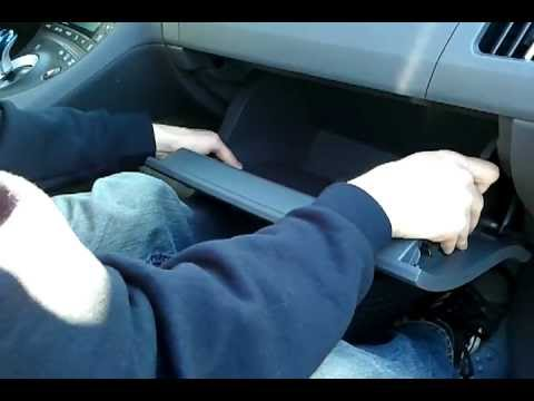 How to change a Gen 3 Prius Cabin Air Filter