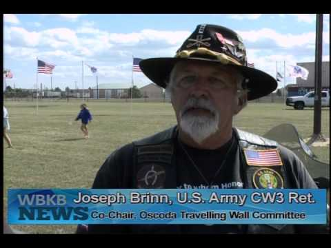 The Traveling Vietnam Wall Comes to Oscoda