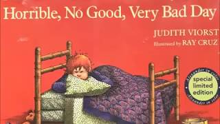 Alexander and the Terrible, Horrible, No Good, Very Bad Day! a READ ALOUD
