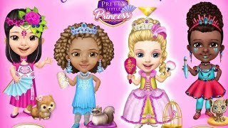 pretty little princess - Dress up Hair Makeup Girls Fun Games - العاب بنات مكياج - Juegos Para Niñas