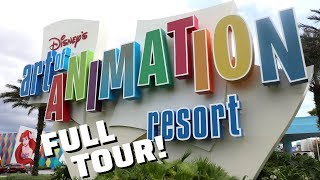 Disney's Art of Animation Resort - FULL TOUR