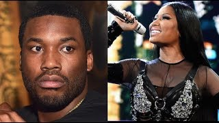 "Nicki Minaj Claims Meek Mill Is Still Always In Her DMs, Meek Responds To Nicki ""To Keep It Classy"""