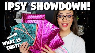 3 DIFFERENT IPSY UNBOXINGS!! What Is that?! | Ipsy Showdown July 2019