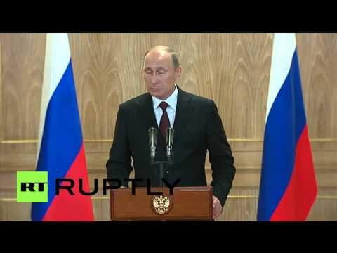 "Italy: ""World economy would collapse if oil stays at $80 per barrel"" - Putin"