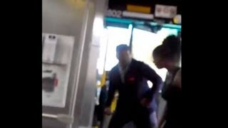Bus Driver Uppercuts Female Passenger (Video)