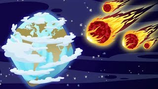 EARTH BEFORE THE ASTEROID HIT | Learn Dinosaur Facts | Educational Video