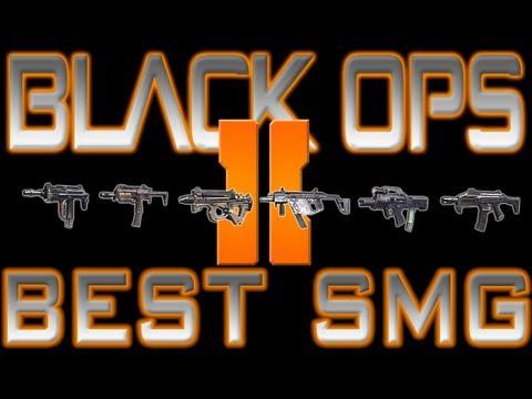 Black Ops 2-Best SMG Sub-Machine Gun