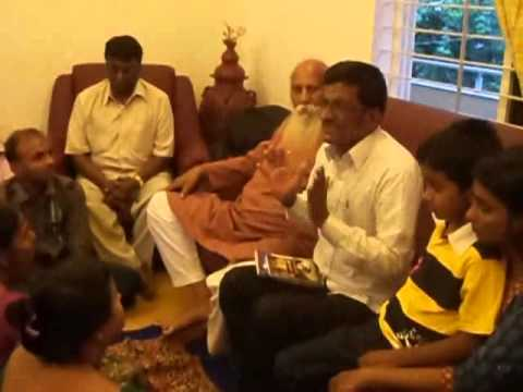 TALK ON  I AM A POLITICAL SCIENTIST  at our home Divine Grace