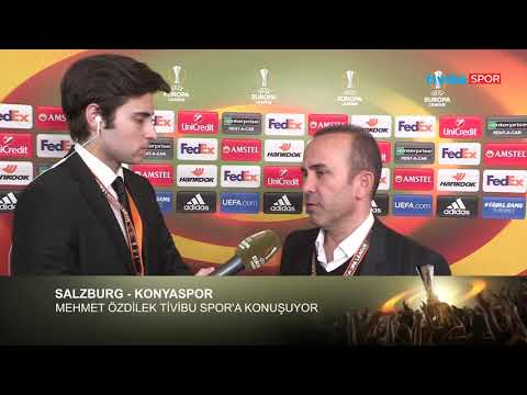 Konyaspor menajeri Mehmet Özdilek, Salzburg maçı öncesi Emre Gürkaynak'ın sorularını yanıtladı.