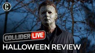 Halloween Movie Review - Collider Live #25