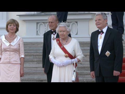Queen Elizabeth in Berlin: Staatsbankett im Schloss Bellevue