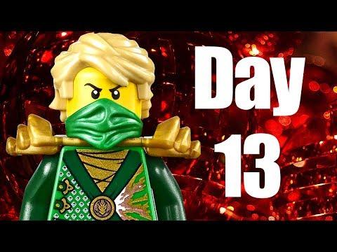 Custom LEGO Ninjago Advent Calendar 2013 Day 13 Review
