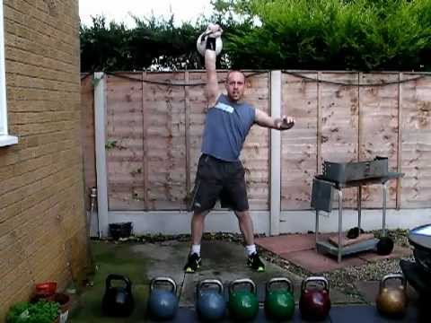 Kettlebell Training - Heavy kettlebell training routine and strength workout Image 1