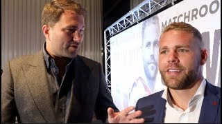 'WE HAVE FLIRTED' -BILLY JOE SAUNDERS & EDDIE HEARN ON CANELO, GGG, 'WARM UP' EUBANK, WARREN SPLIT