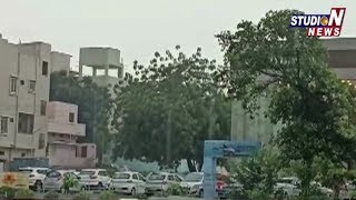 Heavy Rains lashes Hyderabad City