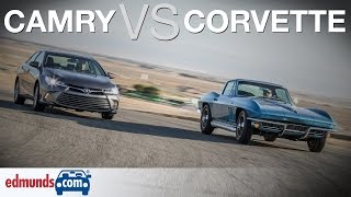 download lagu '66 Corvette Vs Toyota Camry  Classic American Sports gratis