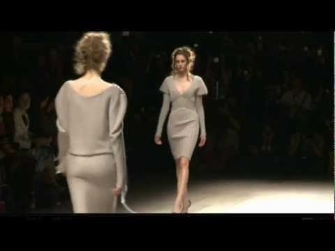 Mark Fast – London Fashion Week (LFW) – Autumn WInter 2012-2013 – Full Fashion Show