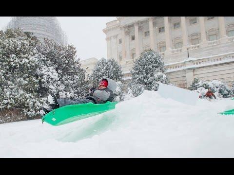 Time-Lapse: DC's 2016 Snowstorm