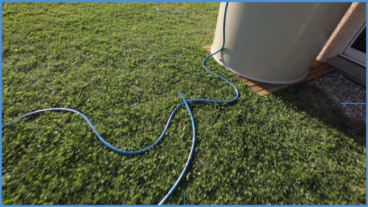 R cup rateur d 39 eau de pluie aqualogic youtube - Systeme recuperateur d eau ...