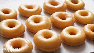 Melt In Your Mouth Glazed Donuts Recipe ( How to make the BEST Yeast Donuts ! )