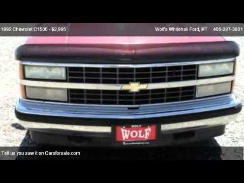 1992 Chevrolet C1500 Base - for sale in Whitehall, MT 59759