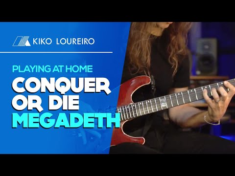 Playing at Home Conquer or Die  MEGADETH