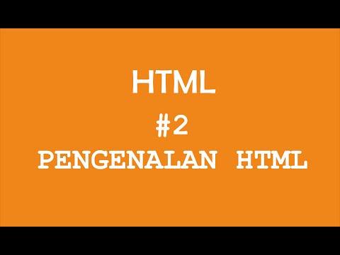 Download  Pengenalan HTML #2 - Pemrograman Web Gratis, download lagu terbaru