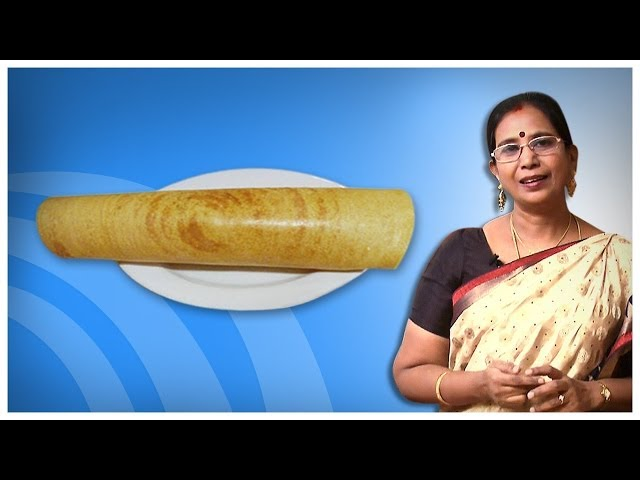Instant Coconut Dosa | Mallika Badrinath Indian Recipes | Bachelor Cooking
