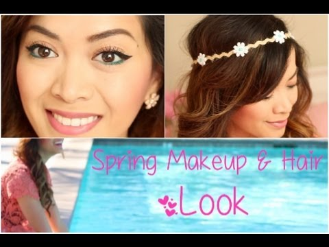 Spring Makeup & Hair Look! - ThatsHeart